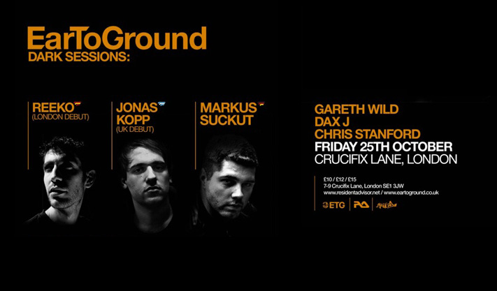 EarToGround Dark Sessions